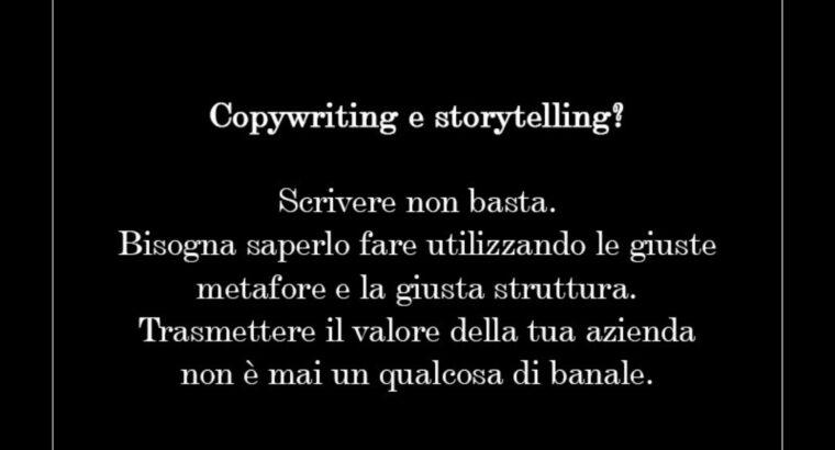 Copywriting & storytelling